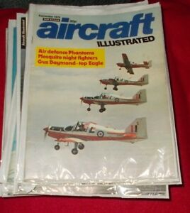 AVIATION AEROPLANE PUBLICATION AIRCRAFT ILLUSTRATED - SELECT ISSUE