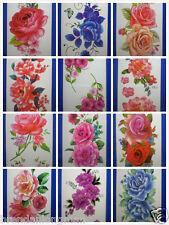 Wholesale 15 Packs Waterproof Temporary Tattoos TBX Flower Rose