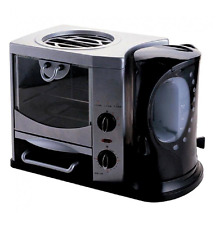 3 in 1 Breakfast Toaster Oven Kettle and Frying Tray Maker