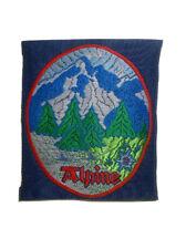 "Vintage NOS Alpine Patch 2 3/4""X 3"""
