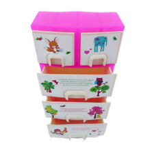 Barbie Doll Accessories Case with Pull Out Drawers & Accessories 6O0