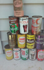 13 DIFF JUICE TAB STEEL SODA CAN CANS EMPTY CHEAP  SHED