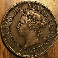 1901 CANADA LARGE CENT PENNY LARGE 1 CENT COIN