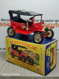MATCHBOX Models of Yesteryear MOY Y1-1 1911 Model T Ford