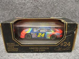 Racing Champions 1994 Premier Edition 1 Of 5000 1:43 Scale Car Jeff Gordon # 24