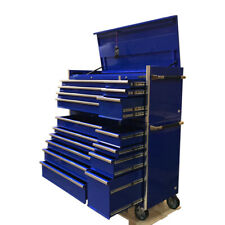 476 US PRO MASSIVE TOOL CHEST CABINET BOX GLOSS BLUE FINANCE AVAILABLE!