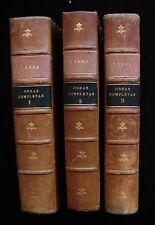 OBRAS COMPLETAS DE FIGARO DON MARIANO JOSE DE LARRA Volumes I, II & III