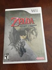 The Legend of Zelda: Twilight Princess Nintendo Wii TESTED Works  NG3