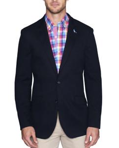 Tailorbyrd $395 Men's Navy Diamond Textured Sport Coat Size 42L