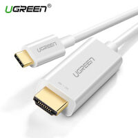 UGREEN USB-C Type C to HDMI Cable For Macbook Projector Samsung Note 9 S9 4K 3D
