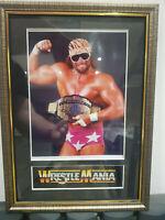 Randy Savage Macho Man Mounted & Framed Retro Memorabilia Retro Wrestling