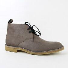 $820 Bottega Veneta Men Beige Soft Fur Leather Ankle Boots 44/US 11 428355 1104