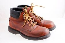 Red Wings Steel Toe Lace Up Padded Comfort Work Boots 6