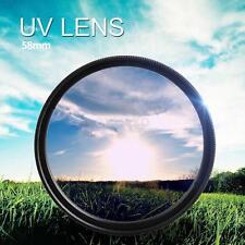 58mm UV Ultra-Violet Filter Lens protector Haze For Pentax Nikon Canon Sony
