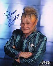 OFFICIAL WEBSITE Ethan Phillips Neelix STAR TREK Voyager 8x10 Photo AUTOGRAPHED