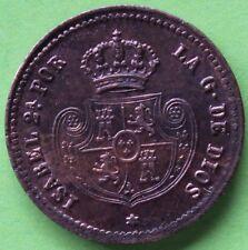 ESPAGNE ISABEL II DECIMA DE REAL 1850