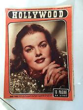 Rivista Cinema Hollywood 1947  n° 26 anno III Jenis Paige  23/6