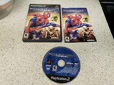 Spider-Man: Friend or Foe PS2 (Sony PlayStation 2, 2007) Complete works great