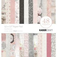 Kaisercraft Floral Romance Paper Pad 12x12 48 Pages - Nini's Things