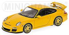 Porsche 911 GT3 997 II - 2009 speedgelb with yellow Wheels 1:43 Minichamps