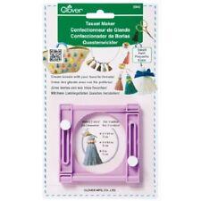 Clover Tassel Maker Small  DIY  - Easy to Make 3 sizes of Tassels
