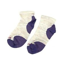 Smartwool Women's PhD Run Ultra Light Low Cut Socks in Moon Beam 4724 Size M