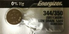 ENERGIZER 344/350 SR1136SW  WATCH BATTERIES 344 350 NEW SEALED Authorize Seller