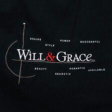 Will and Grace Mens 2XL Sitcom TV 90s Vtg Logo T Shirt