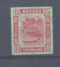 Brunei 1910 $5 sg.47 MH