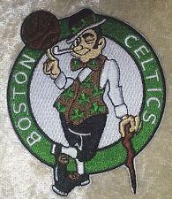 "Boston Celtics NBA 3.5"" Iron On Embroidered Patch~USA Seller~FREE Ship"