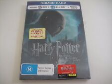 Harry Potter Deathly Hallows Part 1 - Rare JB Hi-Fi Lenticular Cover Blu-Ray/DVD