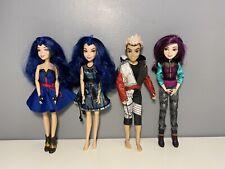More details for disney descendants dolls bundle evie - carlos - mal
