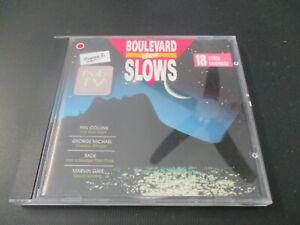 """CD """"BOULEVARD DES SLOWS"""" 18 titres"""