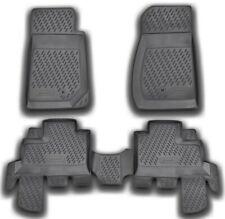 Accurata tappetini per Jeep Wrangler III JK/WRANGLER IV JL 4 porte 2006-2020