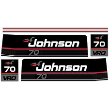 Johnson 70 (1989) outboard decal aufkleber adesivo sticker set