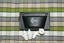 ACS pacato Tapones 2pk con bolsa de protección de la música músico Concierto Festival