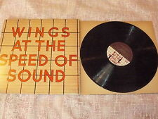"""WINGS """"AT THE SPEED OF SOUND"""" LP MPL 1976 Ita BEATLES McCartney"""