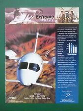 6/03 PUB PIAGGIO AERO AVANTI P180 EXECUTIVE AIRCRAFT AVION FLUGZEUG ORIGINAL AD
