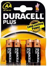 DURACELL MN1500 AA PLUS POWER  BATTERIES PACK OF 4