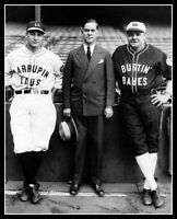 Babe Ruth Lou Gehrig Christy Walsh Photo 8X10 - Yankees Barnstorming 1927