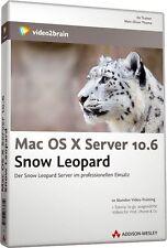video2brain Mac OS X Server 10.6 Snow Leopard, 10 Stunden Video-Training auf DVD