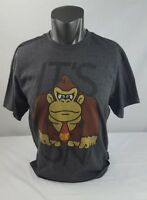 Super Mario It's On Donkey Kong Graphic  XL T Shirt