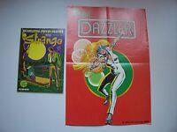"""STRANGE , N° 150 avec Poster détaché """" Dazzler """" , Marvel , LUG , 1982 , TBE"""