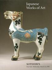 Sotheby's Japanese Works of Art Auction Catalog 1998