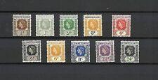 Elizabeth II (1952-Now) Mint Hinged Leeward Islands Stamps