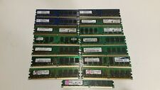 LOT of 15 Mixed Brand  2GB 1GB 256MB DDR2 Desktop Memory Please Read Detail Info