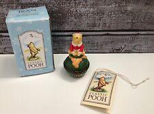 Midwest Of Cannon Falls Classic Pooh, Honey Pot Trinket Box Christmas, W/ Box