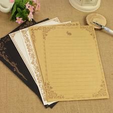 8Pcs Retro Vintage Antique Letter Pad/Paper Writing Note Paper Stationery