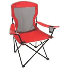 Coleman Broadband Mesh Quad Camping Chair 1 EA Red