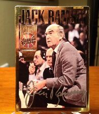 1993 Action Packed Jack Ramsay Auto Hall Of Famer Silver Sig